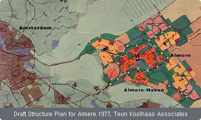 Draft Structure Plan for Almere 1977, Teun Koolhaas Associates