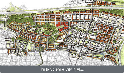 Kista Science City 계획도